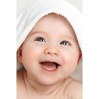 20190309170533217宝宝画报混血娃娃萌孩子婴儿胎教挂图照片海报墙贴女BB墙贴 X01 28寸(50x75