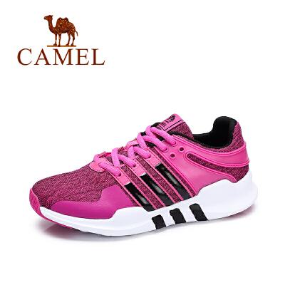 Camel/骆驼女鞋舒适运动休闲鞋 潮流韩版跑步鞋女单鞋