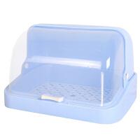 放杯子的柜子防尘罩塑料放茶杯子水杯茶具的收纳盒置物架小柜子托盘储物碗柜装