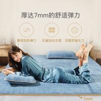 网易严选 秋冬防螨牛奶绒 乳胶软垫 套装