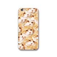 日韩可爱猫咪苹果8plus手机壳创意iphone6s手机套7p硅胶X软壳超萌