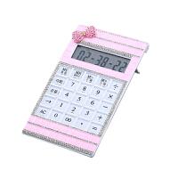 计算器 可爱创意多功能语音大按键多彩薄款迷你水晶计算机开学季礼品