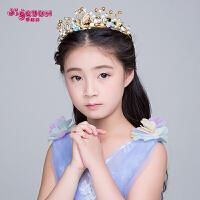 新款儿童发饰头饰头箍发夹女孩发箍花仙子公主皇冠配饰