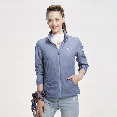 【品牌特惠】诺诗兰春夏女皮肤衣防紫外线透气UPF+防晒风衣GL072202 诺诗兰品牌大促