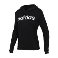 Adidas阿迪达斯 女装 NEO运动休闲连帽卫衣套头衫 DW7955