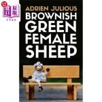 【中商海外直订】Brownish Green Female Sheep