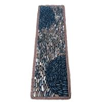 立铺指压板足底按摩垫脚底按摩器家用鹅卵石石头足疗毯子 全新立铺款 40/120 皮毯