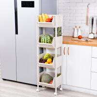 厨房置物架 收纳架落地杂物架多层蔬菜筐客厅层架储物架菜架整理架