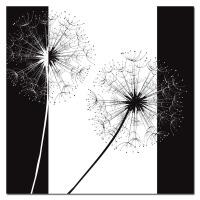 客厅装饰画黑白发财树现代简约抽象艺术走廊过道挂画卧室床头壁画 0*0 5mm厚板 独立