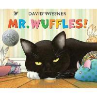 Mr. Wuffles! 大卫・威斯纳新作、2014年凯迪克银奖:华夫先生!精装