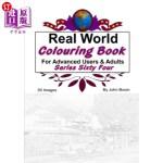 【中商海外直订】Real World Colouring Books Series 64