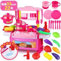 �和��N房玩具套�b�N具切菜做�水果小孩女孩男孩�^家家餐具5