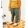 【3折价:72】迷你巴拉巴拉儿童裤子男童加绒长裤2019冬装新款宝宝加厚工装裤