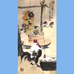 河南美术家协会会员,新乡市美协会员,河南国画轩画廊特约画家武三丁(如意吉祥)