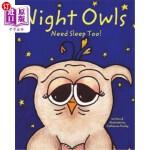 【中商海外直订】Night Owls Need Sleep Too!