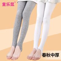 春秋女童踩脚打底裤薄款连裤袜中厚外穿舞蹈3-5-9岁儿童丝袜