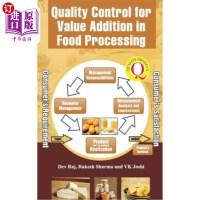 【中商海外直订】Quality Control for Value Addition in Food Processi