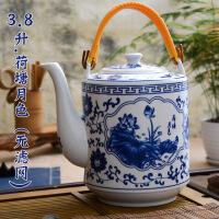 大号容量耐高温时尚陶瓷茶壶凉水壶冷水壶水杯家用茶壶套装