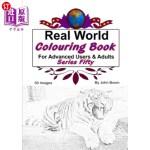 【中商海外直订】Real World Colouring Books Series 50