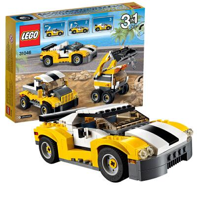 [当当自营]LEGO 乐高 创意百变系列 高速跑车 积木拼插儿童益智玩具 31046 【当当自营】2016年新品!适合7-12岁,222pcs小颗粒积木