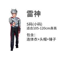 万圣节儿童服装cosplay表演美国队长蜘蛛侠套装钢铁侠衣服超人男