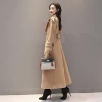 长款毛呢大衣女加厚长外套2019冬季韩版收腰显瘦过膝呢子大衣