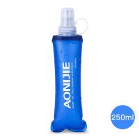 运动水壶硅胶水杯户外健身水瓶透明防漏防滑塑料软水壶随手杯