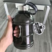 健身水杯大容量男女运动水壶便携户外塑料太空杯2L超大水桶杯