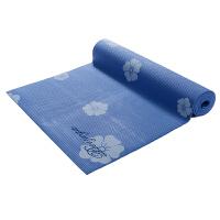 皮尔瑜伽 PVC6mm印花防滑瑜伽垫兰花 (附带背包)