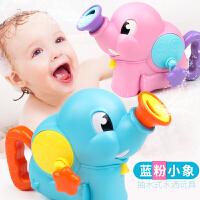 大象花洒喷水浇花壶男女孩浴室儿童戏水沙滩套装宝宝洗澡玩具