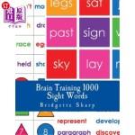 【中商海外直订】Brain Training Sight Words: 1000 High Frequency Wor