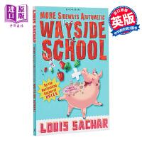 【中商原版】More Sideways Arithmetic from Wayside School 歪歪路小学4 趣味