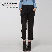 【过年不打烊】诺诗兰新款潮流时尚弹力女式休闲九分长裤KL062701