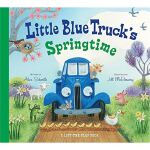 现货 英文原版 Little Blue Truck Springtime