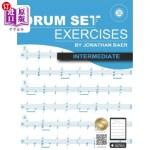 【中商海外直订】Intermediate Drum Set Exercises