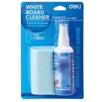 得力7859 白板清洁剂套装 白板清洁剂 白板清洁套件 白板擦