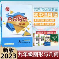 新版2020启东培优微专题九年级图形与几何练习册龙门书局