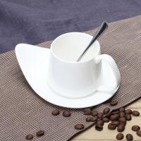 ��雅骨瓷咖啡杯套�b25/��s��意陶瓷小杯子碟勺家用