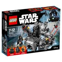 乐高星球大战系列 75183达斯 维达的变身 积木玩具 75183达斯 维达的变身