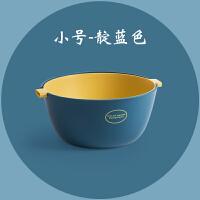 家用塑料双层洗菜篮厨房洗菜盆沥水篮子创意水果盘客厅果盆水果篮