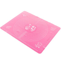 厨房烘焙工具硅胶揉面垫大号案板加厚和面垫子擀面硅胶垫