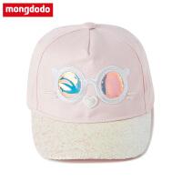 巴拉巴拉旗下新都市童装梦多多女童帽子2019年春季新款中大童女童帽子