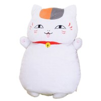 夏目友人帐周边猫老师斑娘口三三二次元动漫抱枕靠枕毛绒靠垫玩偶