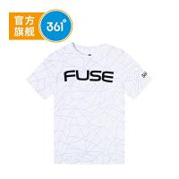 【下单立减】361度童装 男童T恤2019夏季新品透气舒适短袖上衣K51921207