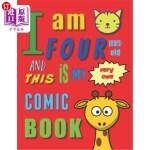 【中商海外直订】I'm Four Years-Old and This Is My Very Own Comic Bo