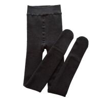 超厚1900D 加厚加绒连裤袜秋冬季显瘦黑色细条纹踩脚袜女士打底袜 奶咖 踩脚 均码