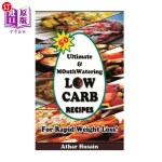 【中商海外直订】50 Ultimate and mouthwatering Low Carb Recipes For