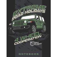"【预订】Jeep Extreme Road 8.5"" x 11"" Notebook: Blank lined Note"