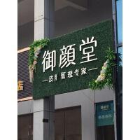 仿真植物墙人造皮墙面绿植装饰塑料假花壁挂门头室内坪背景墙