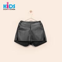 EICHITOO KIDS爱居兔童装2018冬季女童休闲短裤